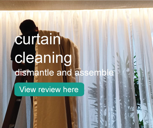 curtain dismantle cleaning and assemble pick up and delivery