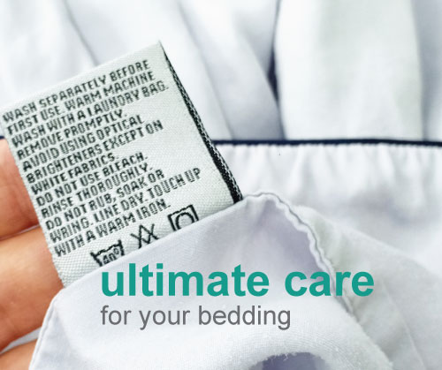pressto ultimate care for luxury bedding